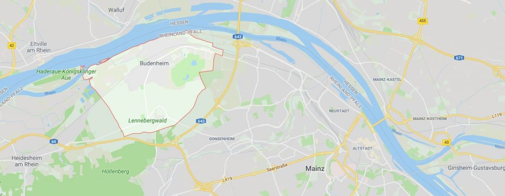 Google-Maps Budenheim
